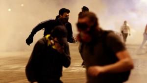 Demonstrant nahe syrischer Grenze getötet