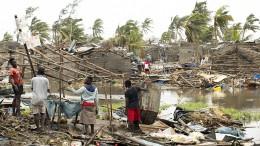 Tropensturm verwüstet Moçambique