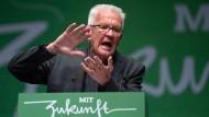 Harsche Kritik am Klimapaket der Bundesregierung: Baden-Württembergs Ministerpräsident Winfried Kretschmann (Grüne)