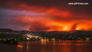 Eindrucksvolle Bilder zeigen Kampf gegen Waldbrände