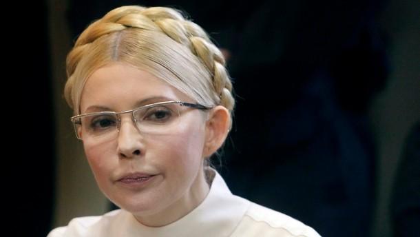 Timoschenko tritt in Hungerstreik