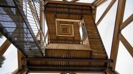 Die Erstbesteigung des neuen Goetheturms