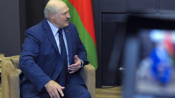 Amerika bereitet Sanktionen gegen Belarus vor
