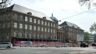 Kulturlandschaft im Umbruch: das Museum Wiesbaden am Eingang zur Wilhelmstraße