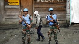 19 Tote bei Angriff auf UN-Friedenstruppe im Kongo