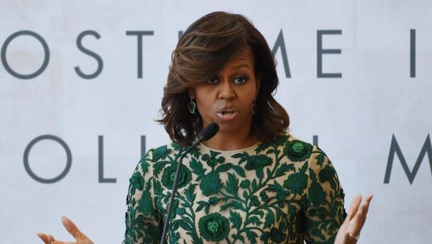 """Michelle Obama: """"Gebt uns unsere Mädchen zurück"""""""
