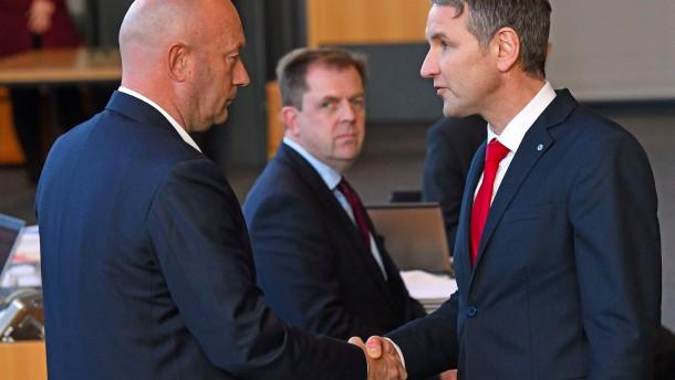 FDP-Fraktionschef Kemmerich neuer Ministerpräsident