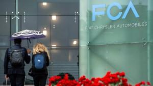 Fiat-Chrysler verhandelt über eine Fusion mit Peugeot