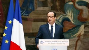 Zu wenig: Die Reformen unter Frankreichs Präsident Francois Hollande reichen aus Sicht der Ratingagentur Fitch nicht aus.