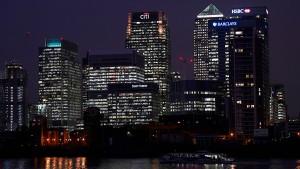 London verliert Finanz-Arbeitsplätze