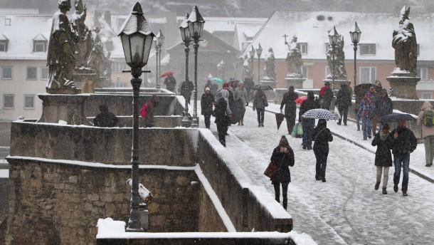 """""""Hiltrud"""" sorgt für massig Schnee"""