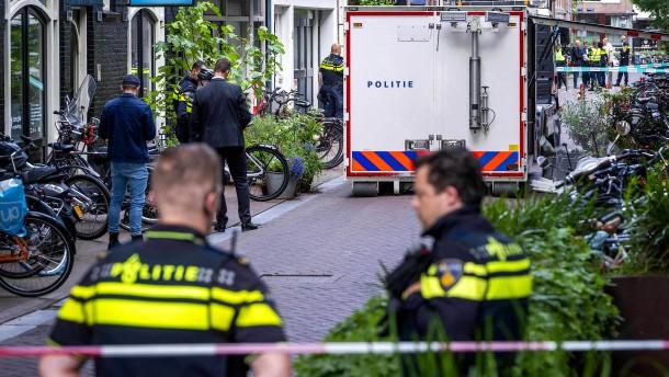 Anschlag auf prominenten niederländischen Journalisten