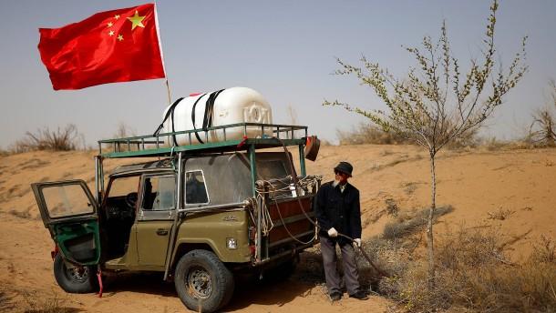 Kampf gegen die Wüste
