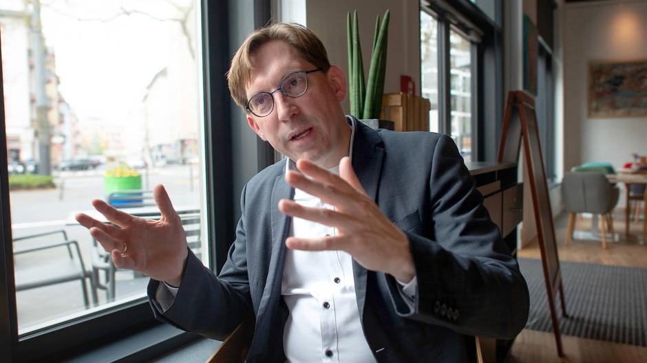 Jetzt gilt es: FDP-Chef Thorsten Lieb warb am Dienstag abermals für die Annahme des Koalitionsvertrags. Marcus Kaufhold