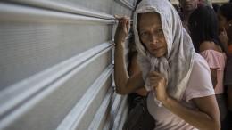 Verzweiflung und Plünderungen in Venezuela