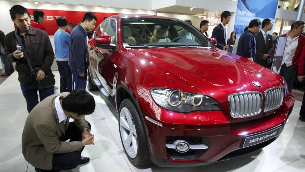 Den Chinesen wird der Luxus zu teuer