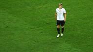 Abgang: Bastian Schweinsteiger hat im EM-Halbfinale gegen Frankreich das letzte Mal für Deutschland gespielt