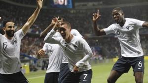Frankreich stark – Rückschlag für Südkorea