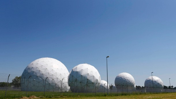Former large monitoring base of US intelligence organization NSA in Bad Aibling