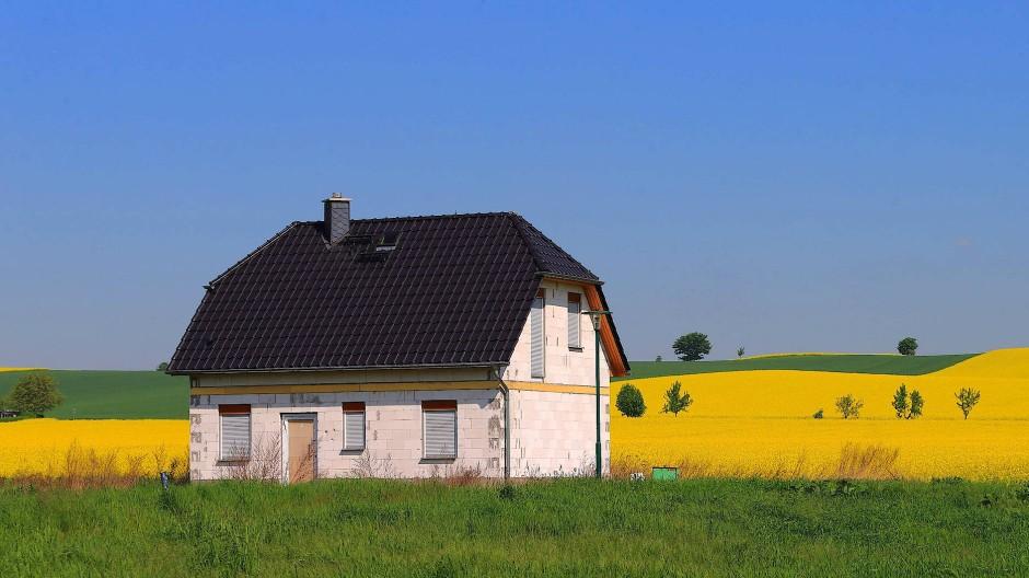 Für jene, die nichts erben, wird das Eigenheim wohl oft ein unerfüllter Traum bleiben.