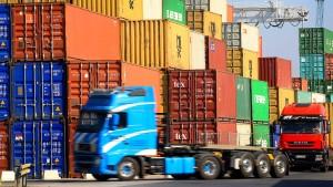 Stimmung unter deutschen Exporteuren steigt