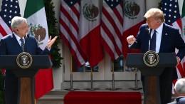 Vereinigte Staaten und Mexiko auf Kuschelkurs
