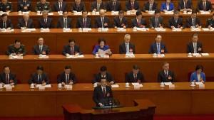 China steht mit dem Rücken zur Wand