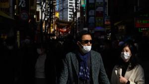 Japans Angst vor dem Virus schützt vor der Grippe