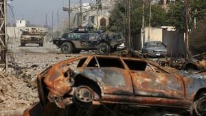 Kampf um Leben und Tod mit dem IS