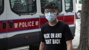 Demokratieaktivist Wong auf Kaution freigelassen