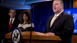 Vereinigte Staaten betrachten jüdische Siedlungen im Westjordanland als legal