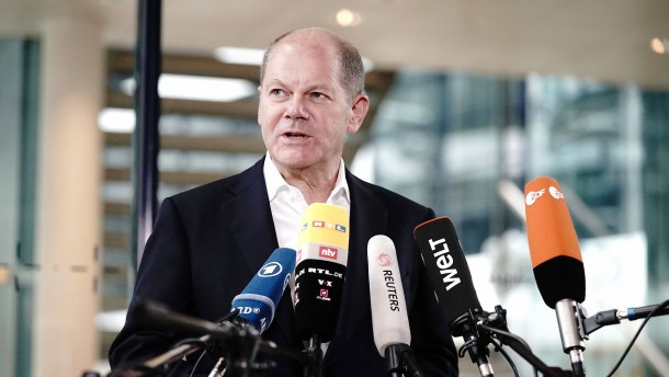 Empörung über Scholz' Steuererhöhungspläne