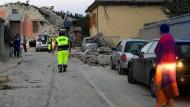 Mindestens sechs Tote nach Erdbeben in Italien