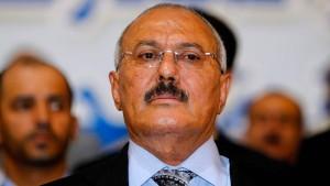 Huthi-Rebellen verkünden Tod von Jemens Ex-Präsident Saleh