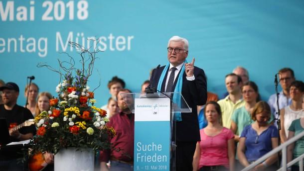 Steinmeier: Staat darf Religion nicht bevormunden
