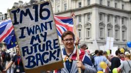 Zehntausende fordern neue Volksabstimmung über Brexit