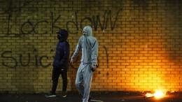 Krawalle in Belfast