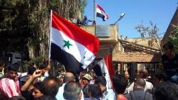 Regierungstruppen marschieren in Rebellenviertel ein
