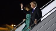 Jubeln für den Präsidenten