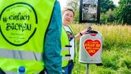 Initiative gegen Müll: Abstimmen mit der Kippe