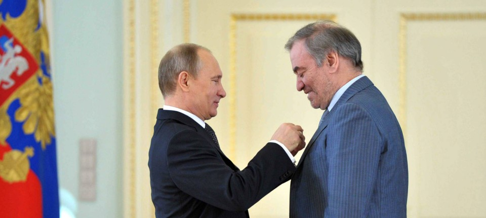 Wladimir Putin und Valery Gergiev