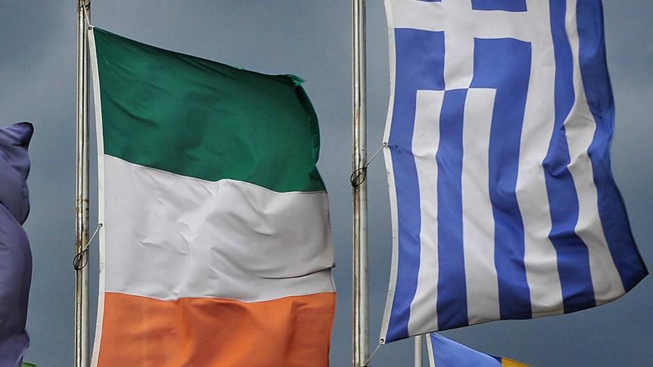 Unruhe im Euroraum: Irland erwartet nun ebenfalls eine Entlastung von den Kosten seiner Bankenrettung