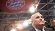 Uli Hoeneß im November auf der Jahreshauptversammlung des FC Bayern
