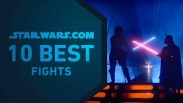Die 10 besten Kämpfe in Star Wars