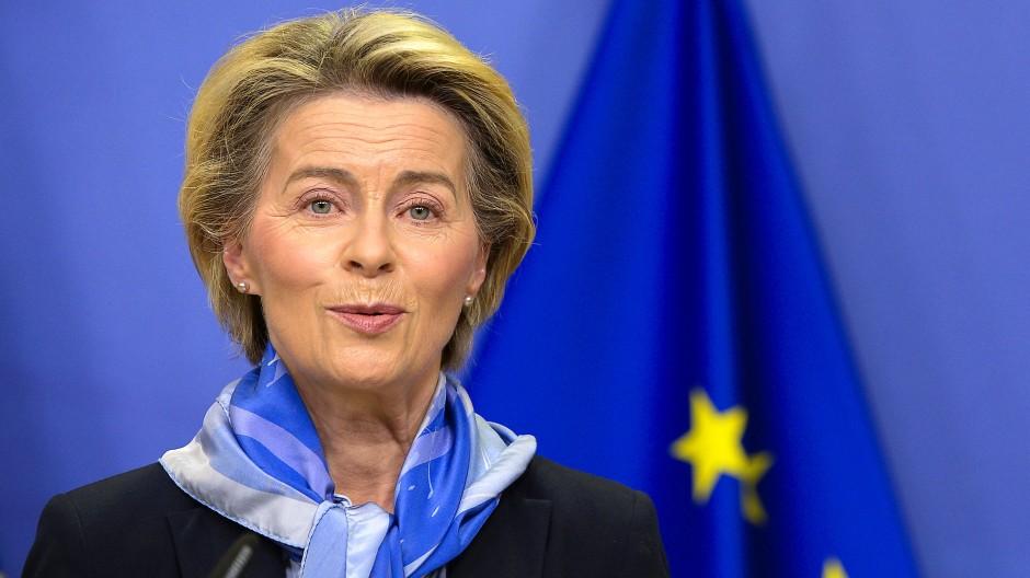 Der Brexit-Handelspakt mit Großbritannien steht: Ursula von der Leyen kann aufatmen.