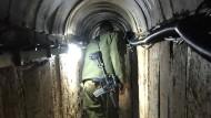 Ein Tunnel der Hamas: 33 davon konnte die israelische Armee 2014 aufspüren und zerstören.