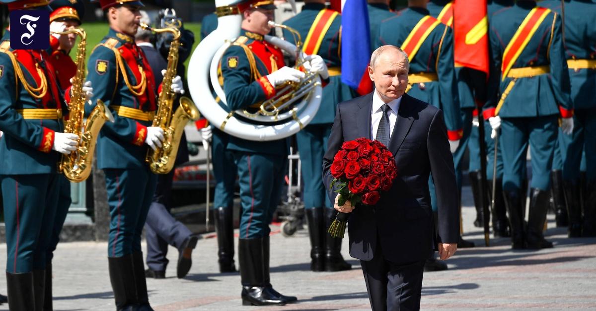 Putin am Gedenktag: Putin beschwört Russlands Größe