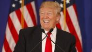 Hat gut lachen: Donald Trump