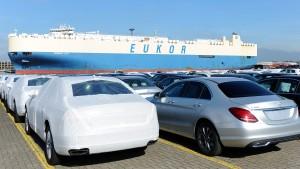 Jedes dritte deutsche Auto geht nach China
