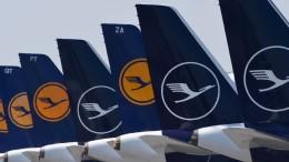 Lufthansa schickt 87.000 Beschäftigte in Kurzarbeit